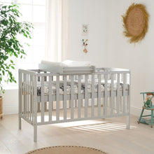 Load image into Gallery viewer, Tutti Bambini Malmo Cot Bed, Cot Top Changer & Mattress Bundle - Dove Grey