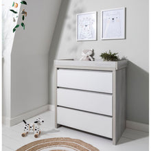 Load image into Gallery viewer, Tutti Bambini Modena Changing Unit - Grey Ash/White