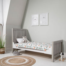 Load image into Gallery viewer, Tutti Bambini Modena 3 in 1 Cot Bed - Grey Ash/White