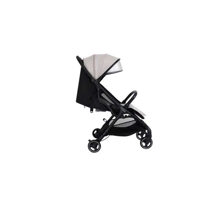 Momi From Birth Stroller - Black/Charcoal