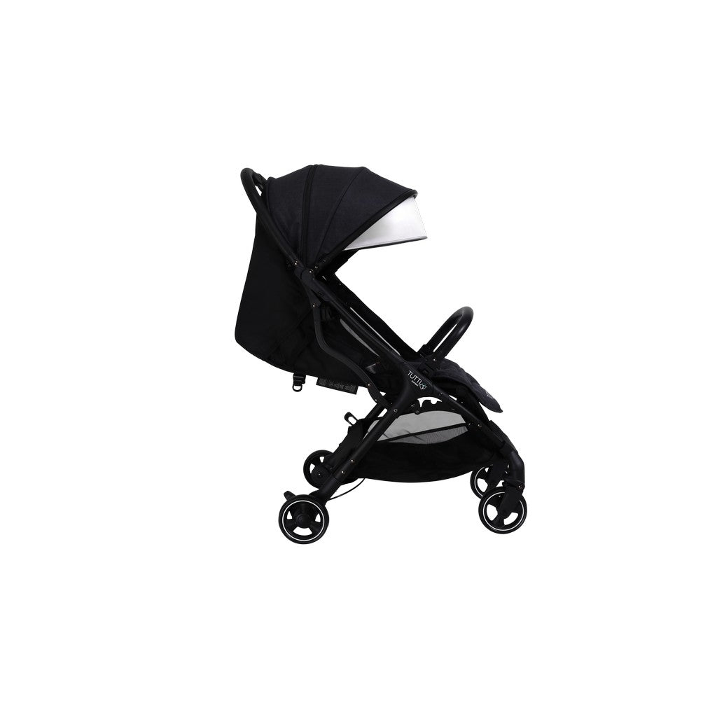 Momi From Birth Stroller - Black/Liquorice