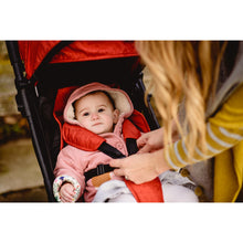 Load image into Gallery viewer, Momi From Birth Stroller - Black/Poppy