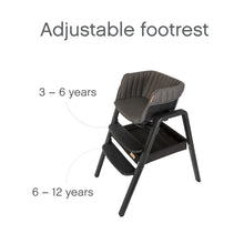 Load image into Gallery viewer, Nova Birth to 12 Years Highchair Package - Black / Black