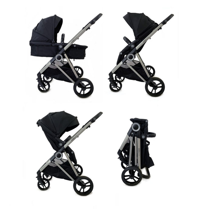 Estilo Bebe Otter 2 in 1 - Midnight Silver