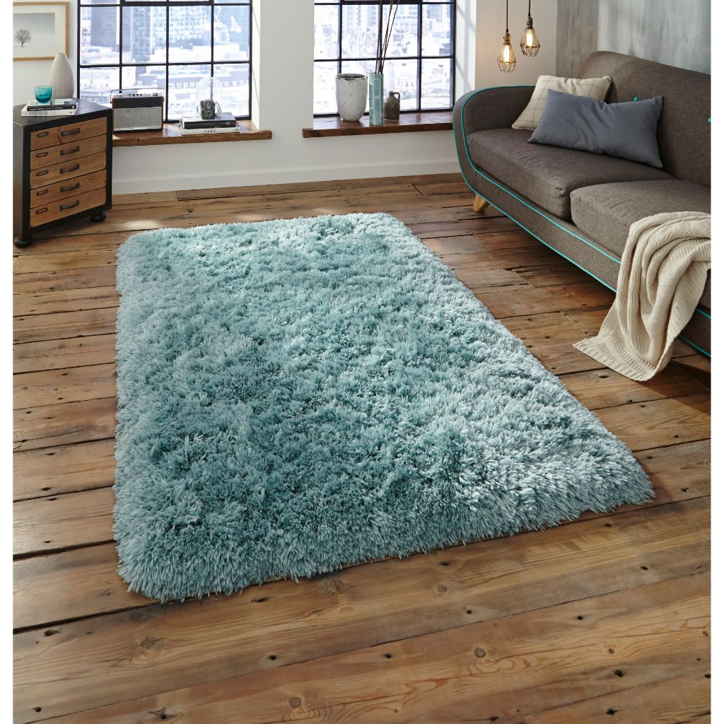 Think Rugs Polar PL 95 - Light Blue