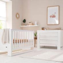 Load image into Gallery viewer, Tutti Bambini Rimini 2 Piece Room Set - Gloss White