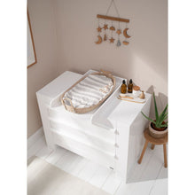 Load image into Gallery viewer, Tutti Bambini Rimini 3 Piece Room Set - Gloss White