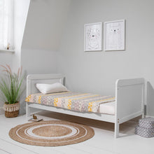 Load image into Gallery viewer, Tutti Bambini Rio Cot Bed With Cot Top Changer & Mattress - White