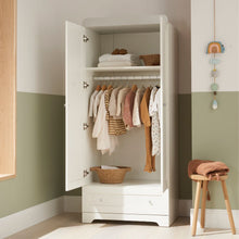 Load image into Gallery viewer, Tutti Bambini Rio Wardrobe - White/Dove Grey