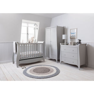 Tutti Bambini Roma Space Saver 3 Piece Room Set - Dove Grey