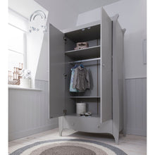 Load image into Gallery viewer, Tutti Bambini Roma Wardrobe - Dove Grey
