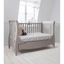Load image into Gallery viewer, Tutti Bambini Roma Sleigh Cot Bed  - Truffle Grey