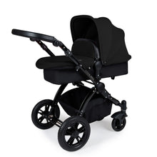 Load image into Gallery viewer, Stomp V3 Travel System with Galaxy Car Seat & Isofix Base - Black / Black
