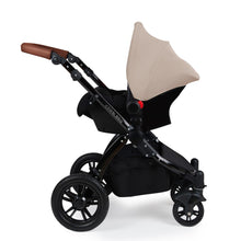 Load image into Gallery viewer, Ickle Bubba Stomp V3 All in One Galaxy I-Size Isofix Travel System - Black Chassis