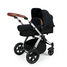 Load image into Gallery viewer, Stomp V3 Travel System with Galaxy Car Seat & Isofix Base - Silver / Black