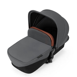 Stomp V3 I-Size Travel System with Mercury Car Seat & Isofix Base - Black / Graphite Grey