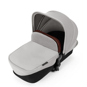 Ickle Bubba Stomp V3 All in One Mercury I-Size Isofix Travel System - Silver Chassis