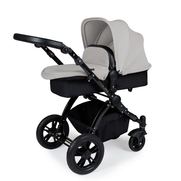 Stomp V3 2 In 1 Carrycot & Pushchair - Black / Silver