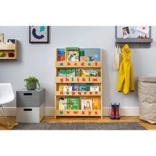 Load image into Gallery viewer, The Tidy Books Children's Bookcase - With Montessori Alphabet