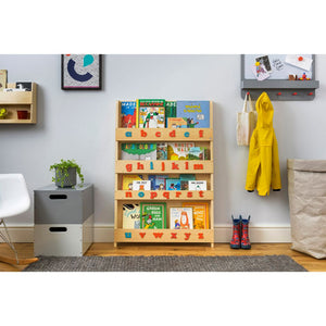 The Tidy Books Children's Bookcase - With Montessori Alphabet