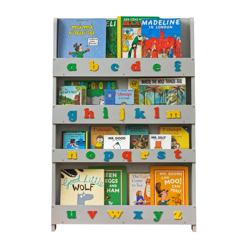 The Tidy Books Children's Bookcase - With Alphabet