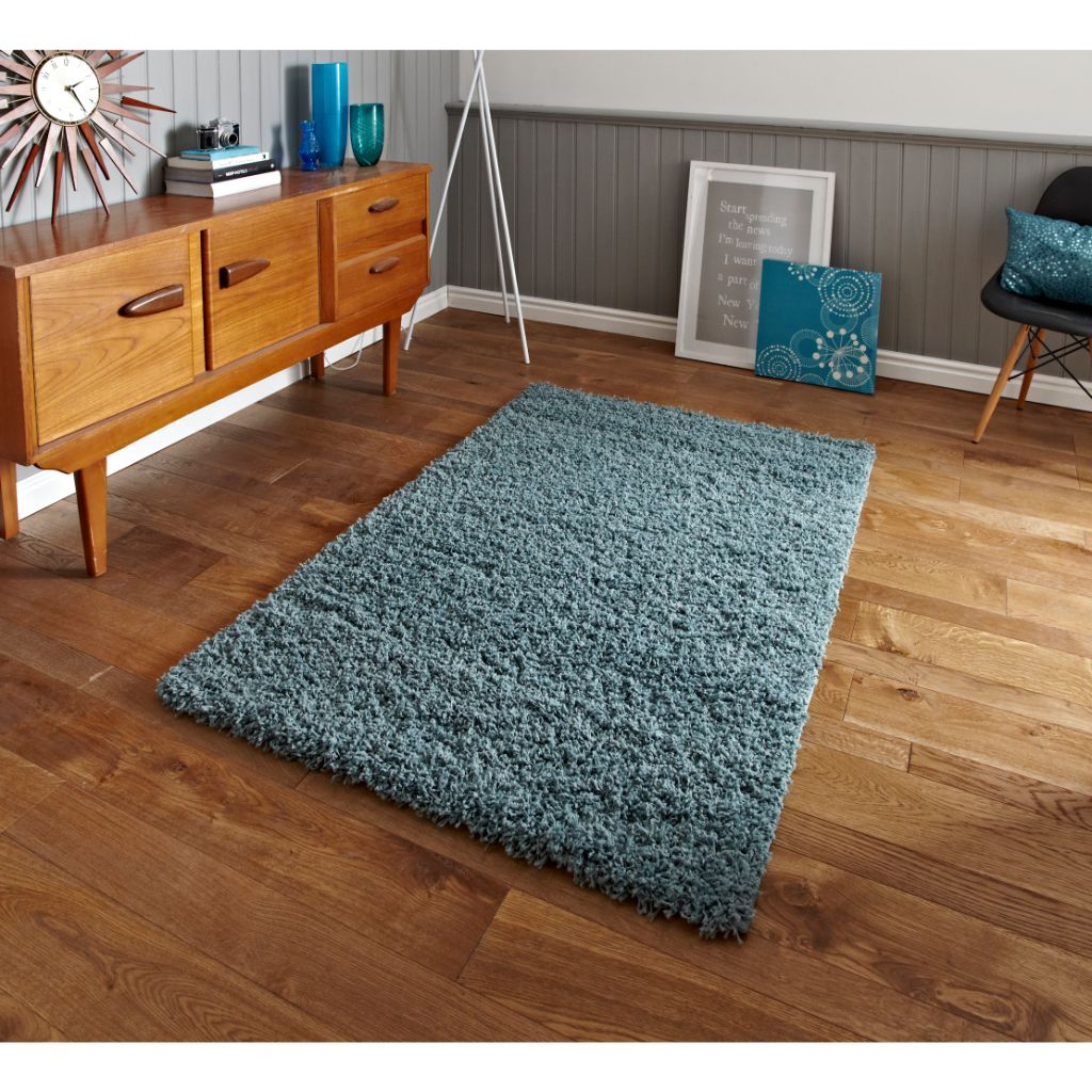 Think Rugs Vista 2236 - Teal Blue