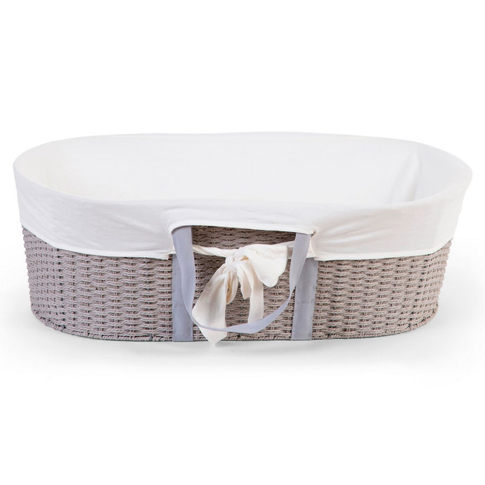 Childhome Moses Basket Cover - Jersey Offwhite