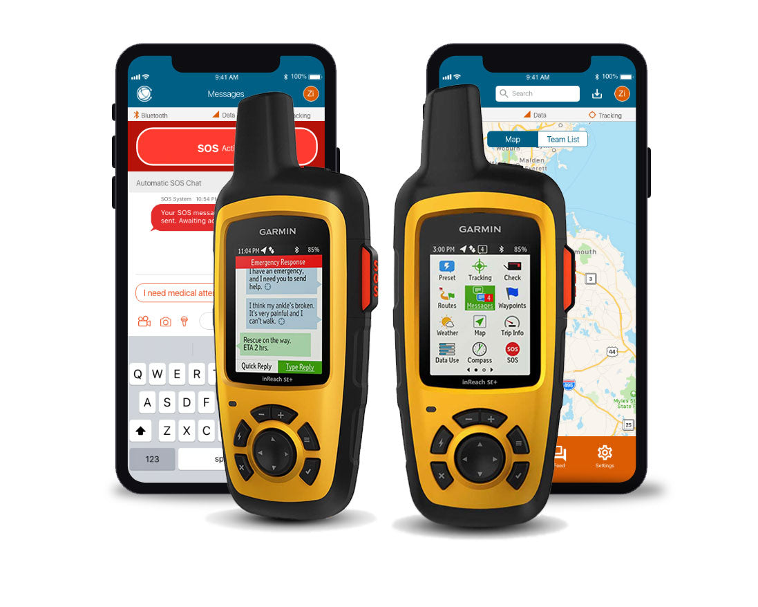 EVERYWHERE inReach® SE+ By Garmin Starter Kit