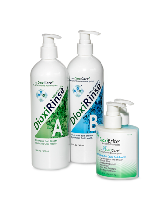 DioxiRinse Chlorine Dioxide Mouthwash and DioxiBrite Chlorine Dioxide Toothpaste