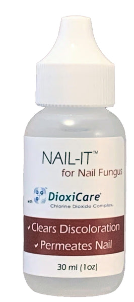 Nail-It Chlorine Dioxide Solution for Nail Fungus (1oz)