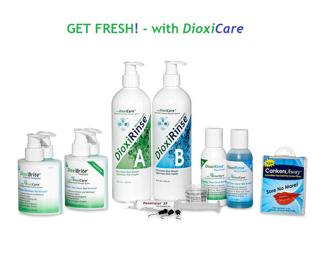 DioxiCare Chlorine Dioxide Oral Products