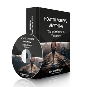 How To Achieve Anything: The 3 Chalkboards to Success (audio download)