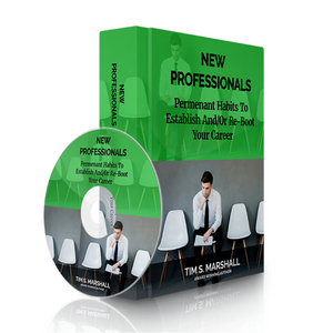 New Professionals: Permanent Habits to Re-Boot Your Career (audio download)