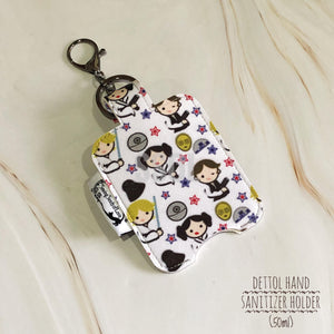 Vinyl Hand Sanitizer Holder (for 50ml bottle) - Star Wars Leia