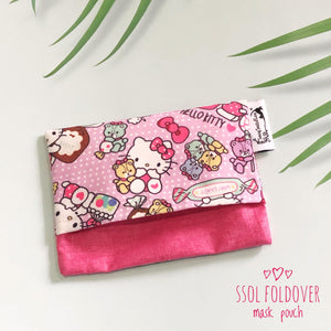 SSOL Foldover Mask Pouch (FREE!)