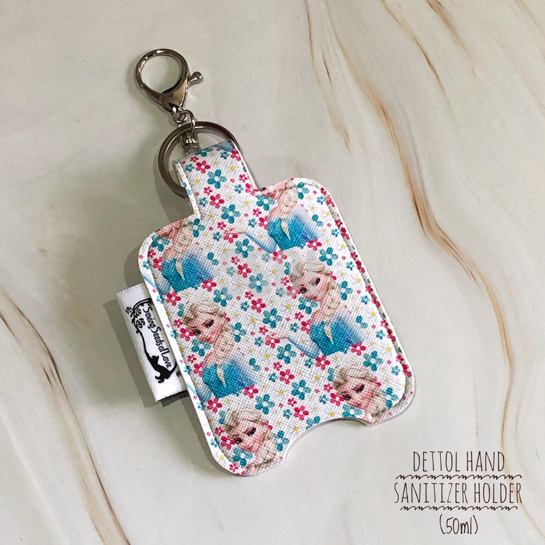 Vinyl Hand Sanitizer Holder (for 50ml bottle) - Frozen 02
