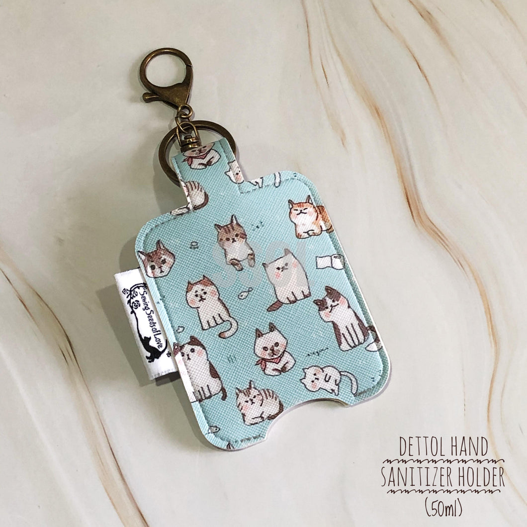 Vinyl Hand Sanitizer Holder (for 50ml bottle) - Cat 01