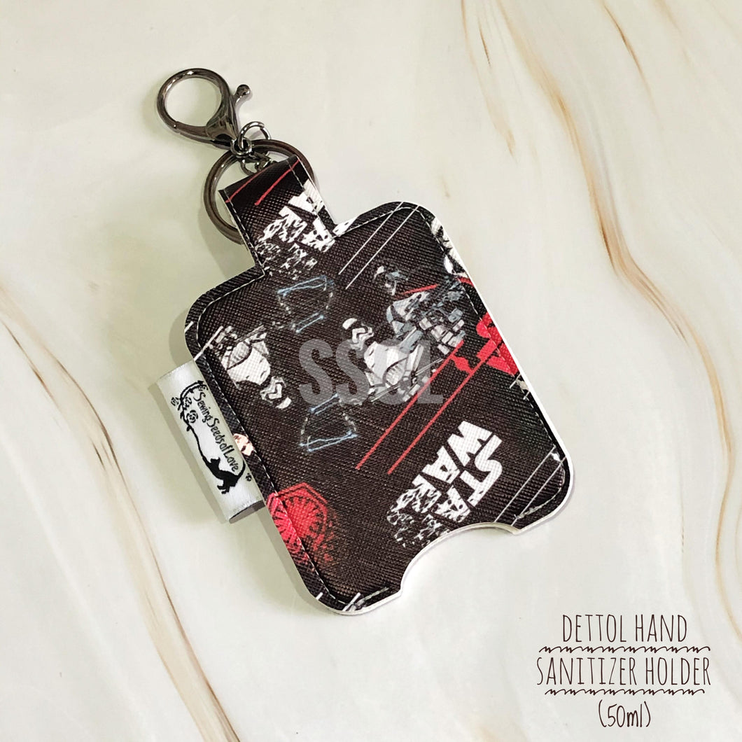 Vinyl Hand Sanitizer Holder (for 50ml bottle) - Star Wars Black