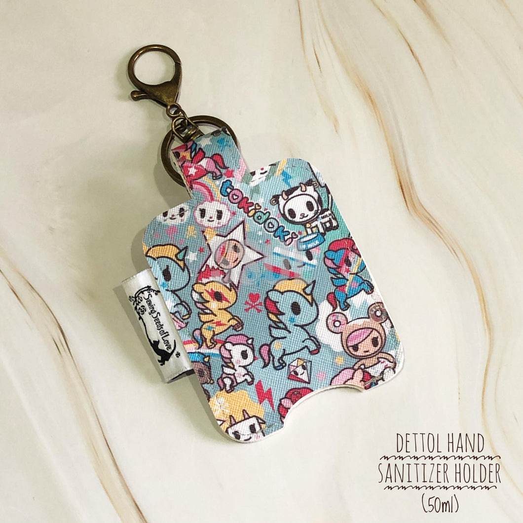 Vinyl Hand Sanitizer Holder (for 50ml bottle) - Toki Unikiki2.0