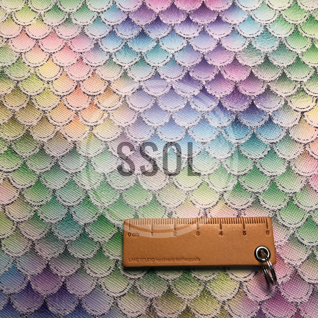 Vinyl/PU Leather - Scales09