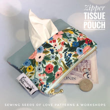 Load image into Gallery viewer, Seedlings 101 - Zipper Tissue Pouch Workshop