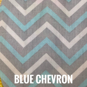 SSOL3DMasks Kit - Blue Chevron