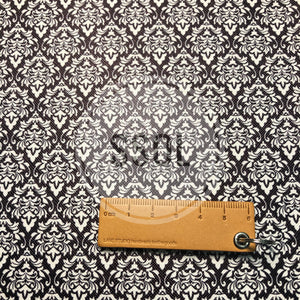 Vinyl/PU Leather - Damask02