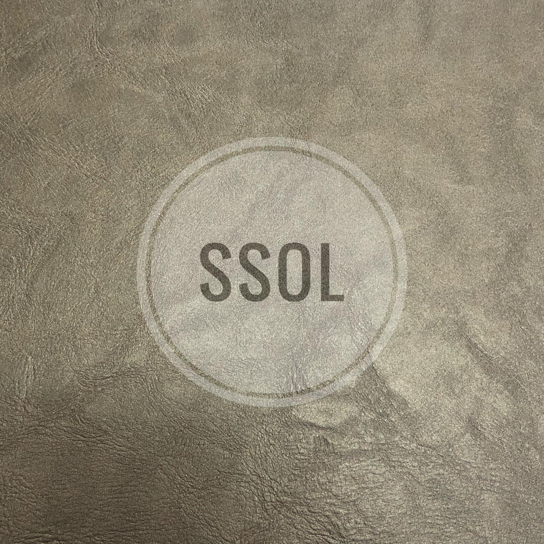 Vinyl/PU Leather - Solid Faux Ele 04 (Space Grey)