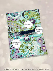 3-in-1 Mask Pouch Pattern
