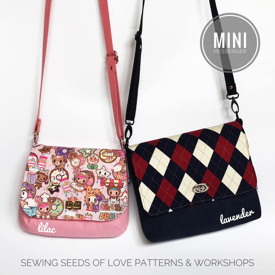 Seedlings 102 - Mini Messenger Crossbody Workshop