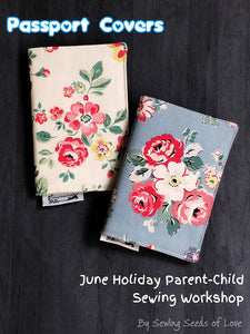 Seedlings 101 - Passport Cover Workshop