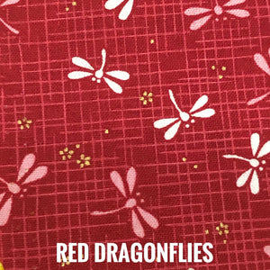 SSOL3DMasks Kit - Red Dragonflies