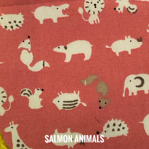 SSOL3DMasks Kit - Salmon Animals