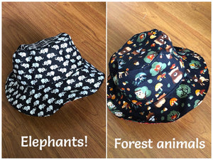 Seedlings 102 - Reversible Bucket Hat Workshop